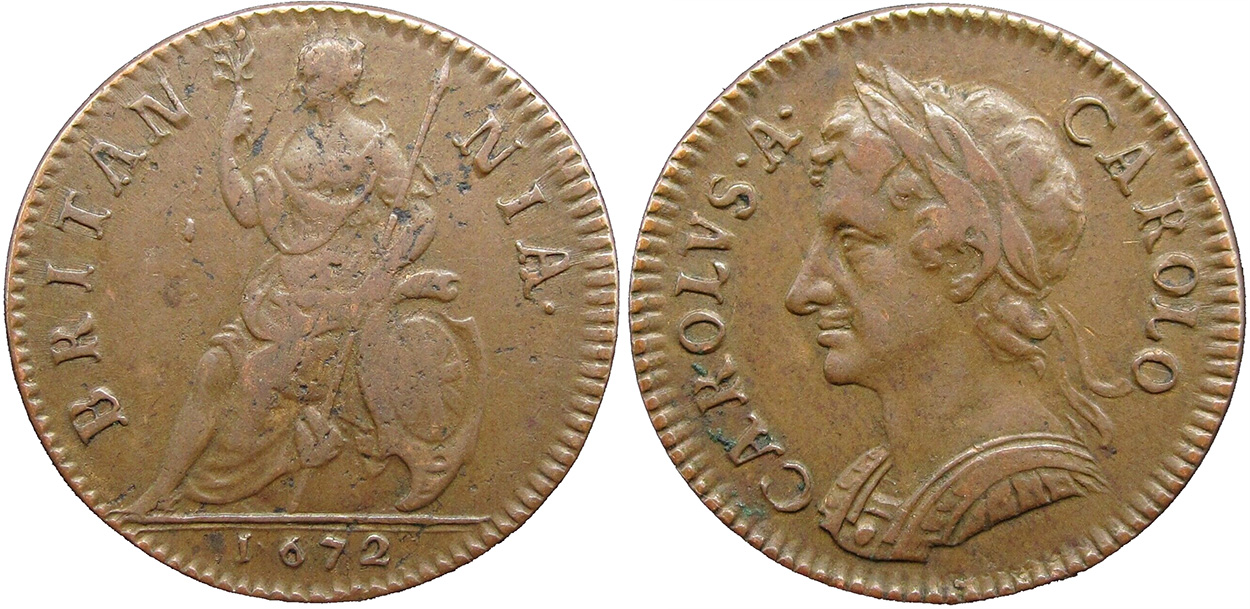 Farthing 1672 - United Kingdom coin