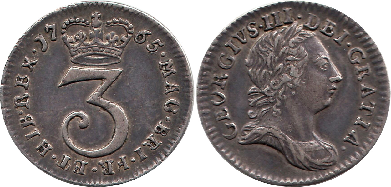 Threepence 1786 - United Kingdom coin